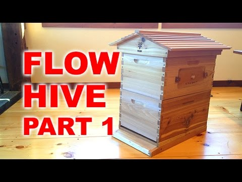 FLOW HIVE Un-boxing and Assembly - Novice Beekeeping Part 1