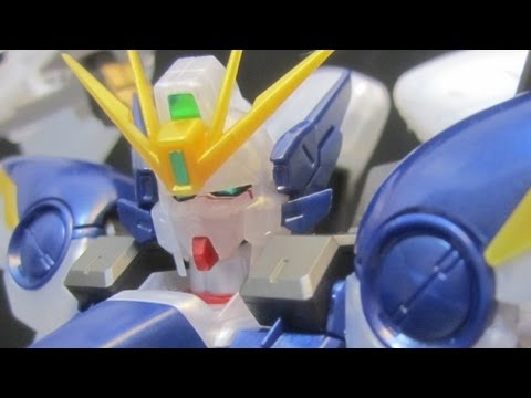 MG Wing Zero EW Pearl Gloss (Part 1: Unbox) Wing Gundam Zero Custom Endless Waltz gunpla review