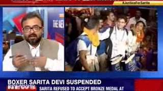 Boxer Sarita Devi suspended for Asian games protest - NEWSXLIVE