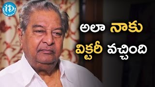 I Achieved My Goals - Kaikala Satyanarayana || Dialogue With Prema - IDREAMMOVIES