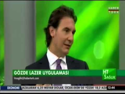 GOZ DE LAZER AMELIYATLARI HAKKINDA OP. DR. EFEKAN COSKUNSEVEN Habertürk Tv   HT  Sağlık