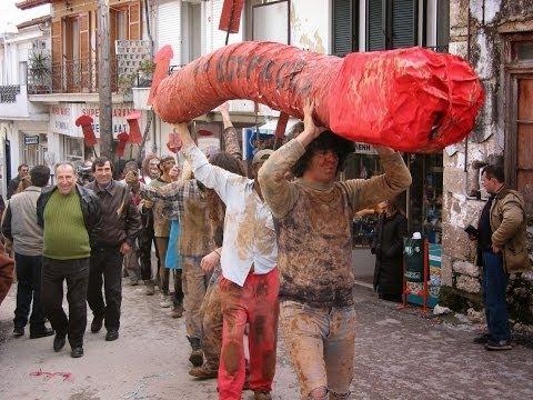 Σφοντύλω & Ένα μουνί καυχήθηκε - Καρναβάλι Αγίας Άννας
