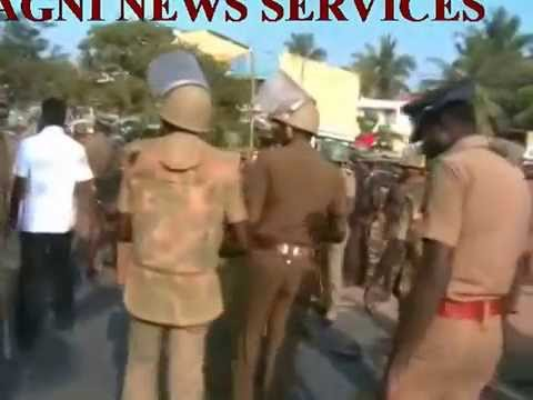 RAMANATHAPURAM .. UNITY MARCH TURNS VIOLENT