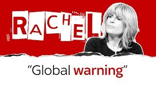 """""""Forget Brexit"""" - Rachel calls for us to tackle climate change - SKYNEWS"""