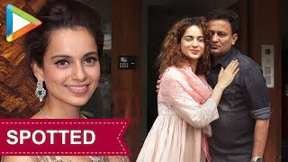 Kangana Ranaut at the promotions of film 'Manikarnika The Queen of Jhansi' - HUNGAMA
