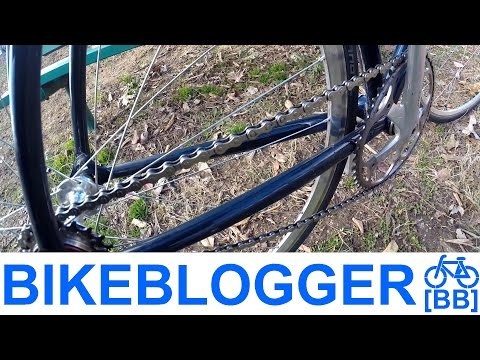 Mushroom Riveted Chain Pins! Peened Tip Of The Day! Bike Blogger