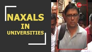 Breaking: Urban Naxals were trying to spread wings in college and universities - ZEENEWS