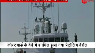 Fast patrol vessel Rani Rashmoni commissioned into Indian Coast Guard - ZEENEWS