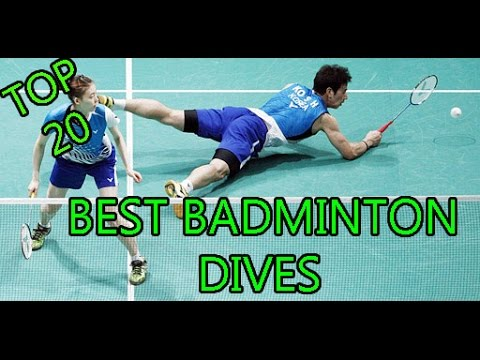 Best Badminton Dives in History ! Compilation 2016