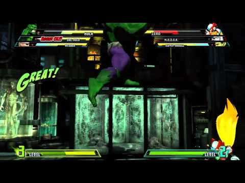 Marvel vs Capcom 3 'She-Hulk, Hulk, Wesker vs M.O.D.O.K, Zero, Super-Skrull' TRUE-HD QUALITY