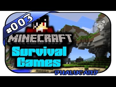 Minecraft Survival Games #003 - ANGRIFF! - Let's Play Minecraft - Deutsch German