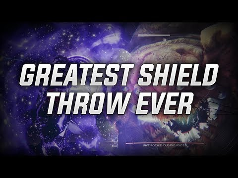Greatest Shield Throw Ever