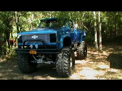 Sweet chevy monster truck GoodTimes 4x4