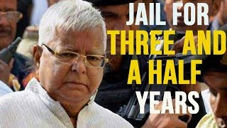 Lalu Prasad Yadav Sentenced To Jail For Three And a Half Years In Fodder Scam Case | Mango News - MANGONEWS