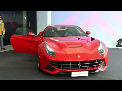 Private view & Press presentation F12berlinetta