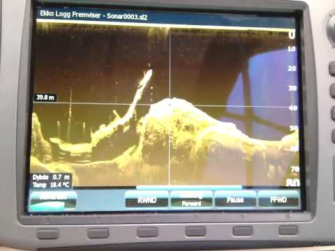 Lowrance StructurScan of MV Seattle shipwreck 