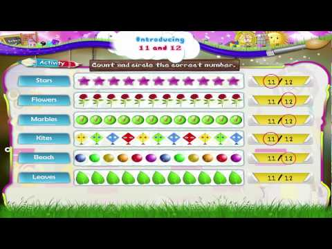 Learn Grade 1 - Maths - Introducing 11 and 12