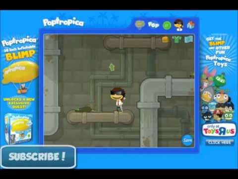 Poptropica Super Power Island FULL Walkthrough