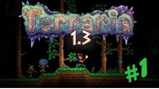 Terraria 1.3.0.8 Прохождение: #1 - Начало