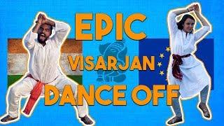 India Vs Foreign - Ganpati Visarjan Dance Face Off | Ganesh Chaturthi Special - ZOOMDEKHO