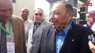 اتفرج | حمادة إمام يشارك في حفل افتتاح منشآت الزمالك