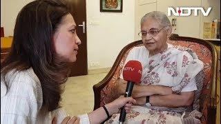 NDTV EXCLUSIVE: मेरा मकसद पार्टी को दिल्ली में दोबारा मजबूत बनाना है- शीला दीक्षित - NDTVINDIA
