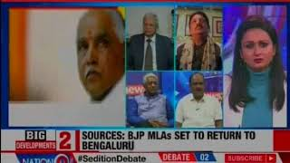 Who will HD Kumaraswamy back post Lok Sabha polls 2019? Nation At 9 - NEWSXLIVE