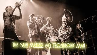 Royalty Free :The Sun Melted My Trombone Man
