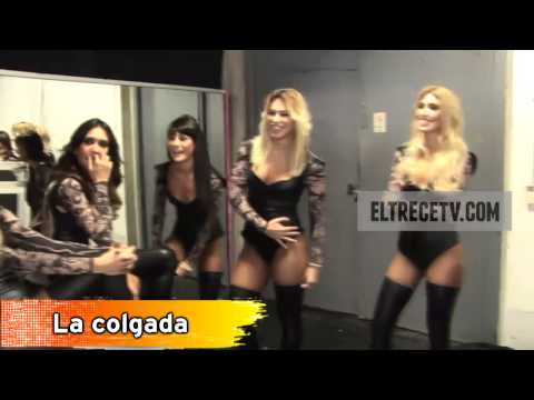Bailarinas de Showmatch - Backstage