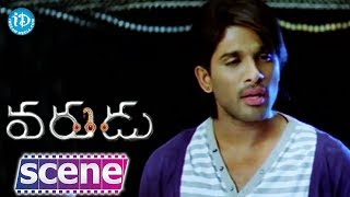 Varudu Movie Scenes - Allu Arjun Funny Chit Chat With His Relatives || Bhanusri Mehra - IDREAMMOVIES