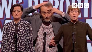 Things a news reporter would never say - Mock the Week - BBC Two - BBC