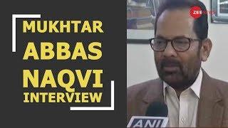 Breaking: Mukhtar Abbasi Naqvi reacts to Pune Police 5,000-page chargesheet in Bhima Koregaon case - ZEENEWS