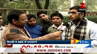 Zee asks Delhiites on who should form the next govt - ZEENEWS