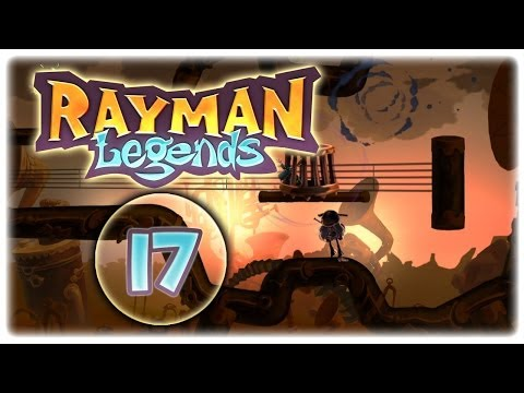 Let's Play Rayman Legends [German/100%] | Part 17 | Von Schattenspielen und Filmmusik