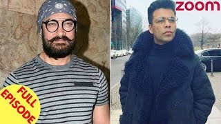 Aamir Reveals Details On His Character In 'TOH' | Karan Johar Announces His Film 'Kalank' & More - ZOOMDEKHO