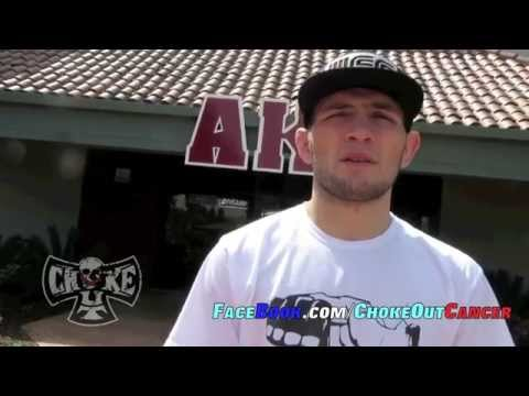 khabib Nurmagomedov talking bout his UFC on FOX 11 fight by ChokeOuT Cancer