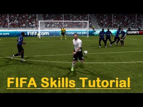 FIFA 12 I The Ultimate Skills Shots Tutorial Guide - PS3/XBOX/PC - Gameplay/Commentary