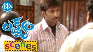 Lakshyam Movie Scenes || Gopichand Warning Anushka's Father Ahuti Prasad - IDREAMMOVIES