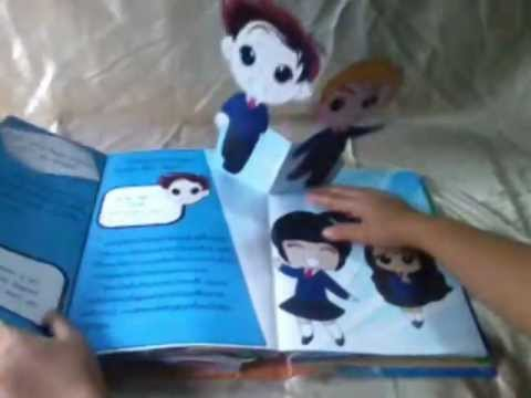  Pop up Book :  5 
