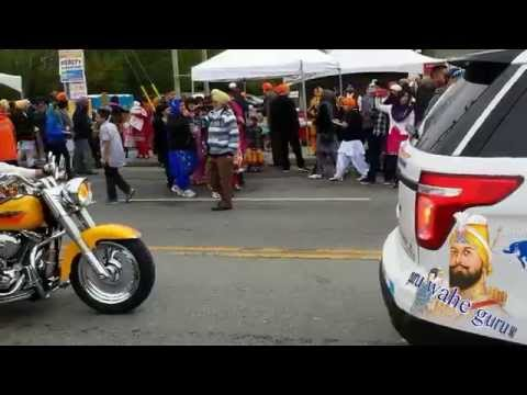 live surrey nagar kirtan hd exclusive made with samsung galaxy 5 , Canada , BC