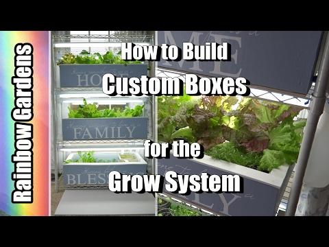 DIY How to Build Custom Boxes - The Indoor Grow System  |  THE INDOOR GARDEN