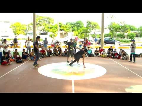 Bboy Tripa vs Bboy Mogarrita vs Bboy Toti Como Que La Brincas 2013
