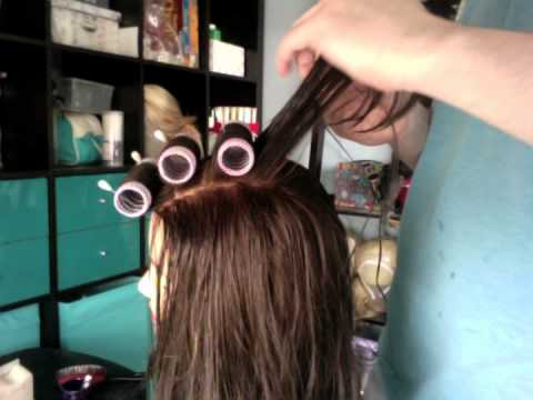 Tutorial - Wig Roller Setting for Drag, Theater, Opera and Cosplay
