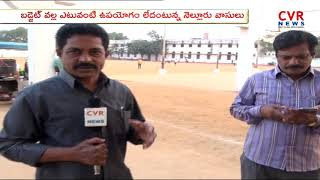 Nellore People Opinion on AP Budget 2018-19 | CVR News - CVRNEWSOFFICIAL