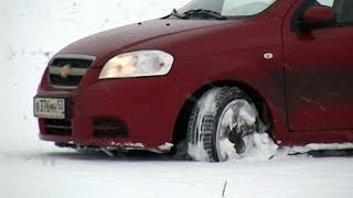 Обзор зимних шин для B класса 2013-2014