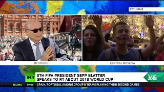 'Football should help to solve political problems'  – 8th FIFA President Sepp Blatter - RUSSIATODAY
