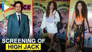 Mithila Palkar | Sumeet Vyas | Kirti Kharbanda & others at screening of High Jack - HUNGAMA