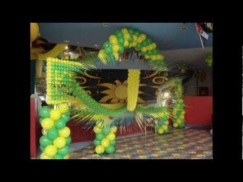 ديكور بالونات للحفلات