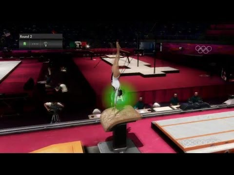 Trampoline and Vault  - London 2012 Olympics Gameplay