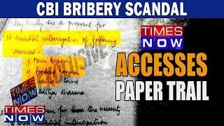 CBI bribery scandal set to explode, Stage set for MEGA clash - TIMESNOWONLINE